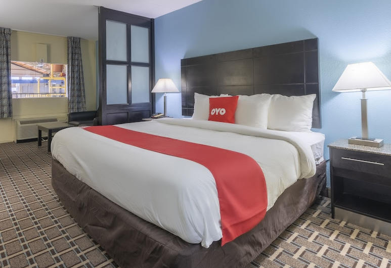 OYO Hotel Knoxville TN Cedar Bluff I-40, Knoxville, Studio, 1 King Bed with Sofa bed, Guest Room