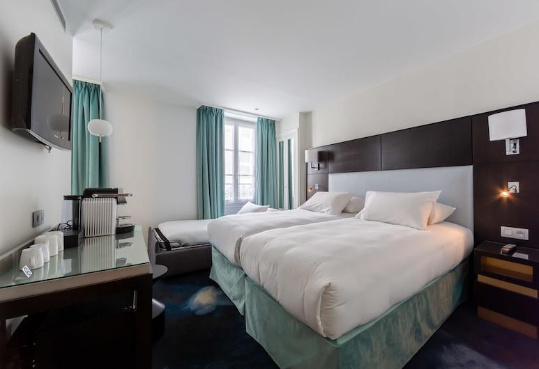 Hôtel 15 Montparnasse, Paryż, Pokój dla 3 osób, Pokój