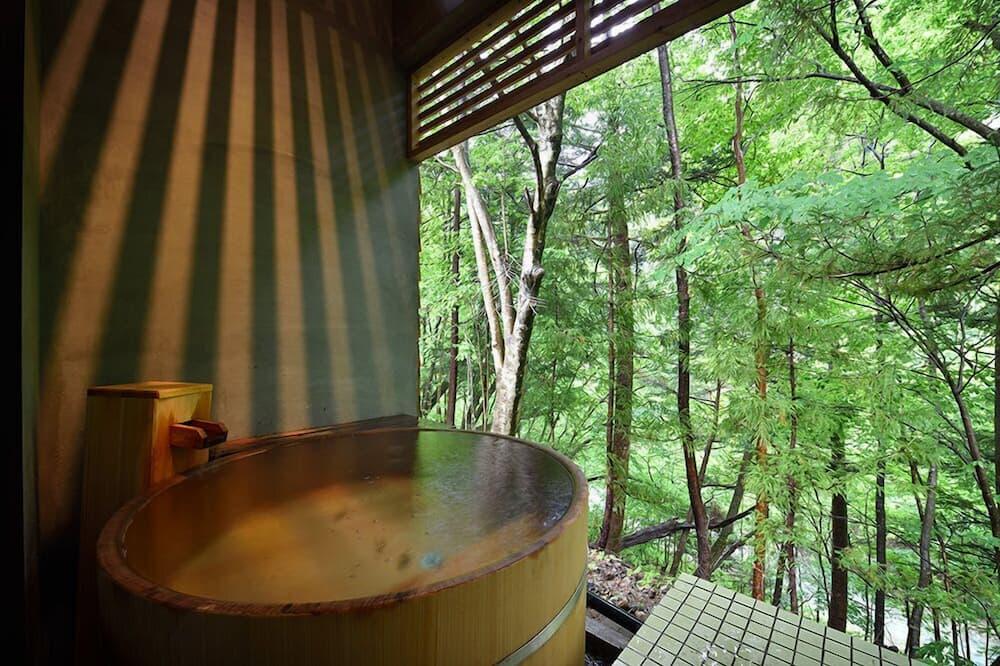 Shima Blue Free, Run of House with Private Open-air Bath, Terrace - Bathroom