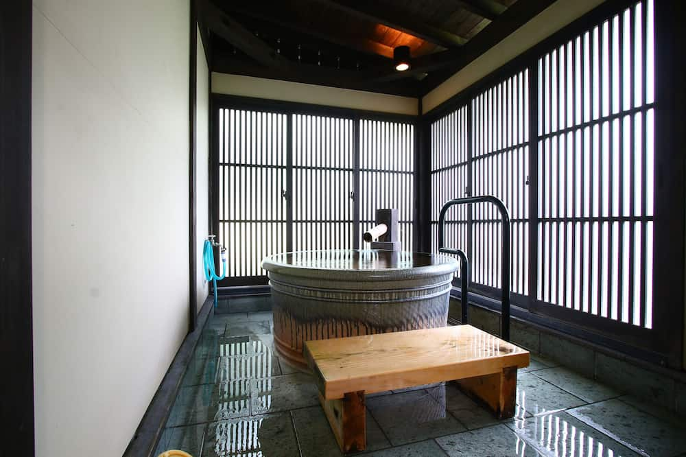 Japanese Style Room with Private Indoor Bath - Bathroom