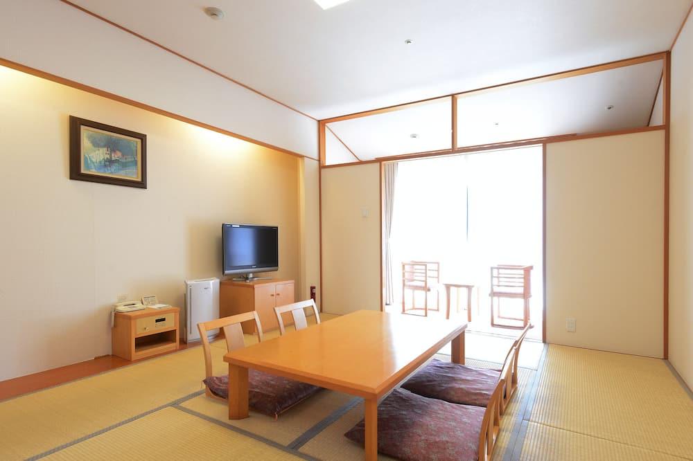 חדר קלאסי, למעשנים (Japanese Style, 10 Tatami-mats) - חדר אורחים