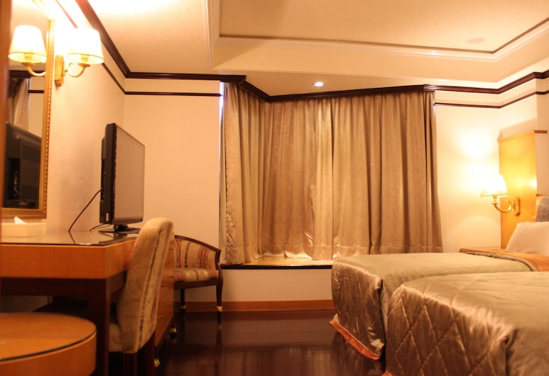 Beverly Commercial Motel, Taoyuan City, Elite Double Room, Guest Room