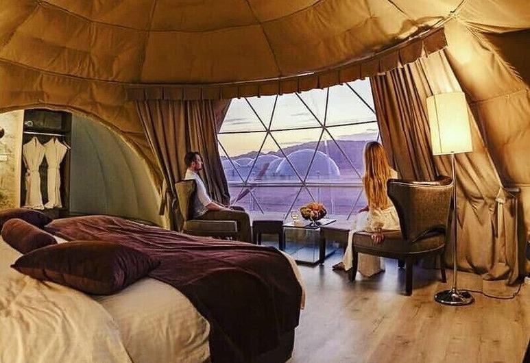 Wadi Rum UFO Luxotel - Campsite, Wadi Rum, Junior Suite Pod King, Room