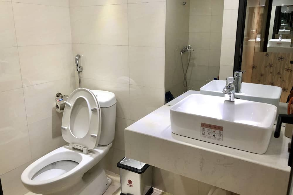 Gemeinsamer Traditional-Schlafsaal, 1Einzelbett - Badezimmer