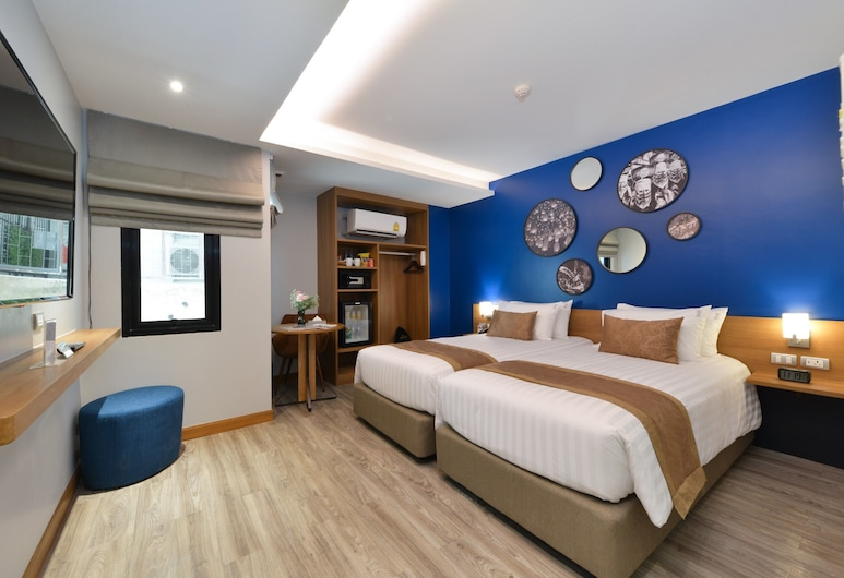 Aspira One Sutthisan, Bangkok, Deluxe Twin Room, Guest Room
