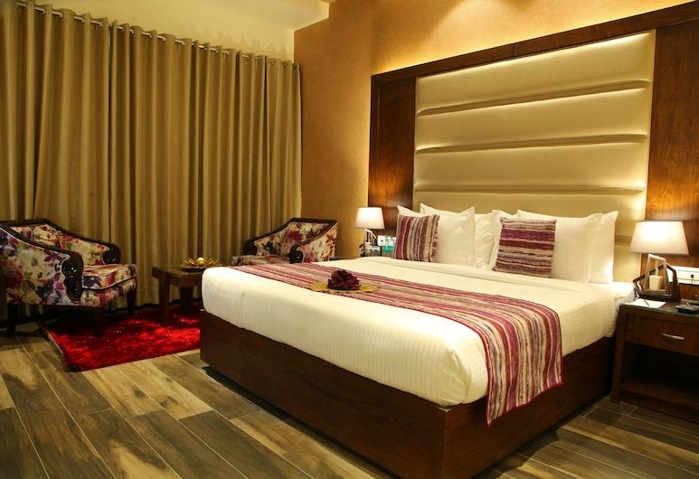 WJ Grand Hotel, Jalandhar, Quarto Executivo, 1 cama king-size, Quarto