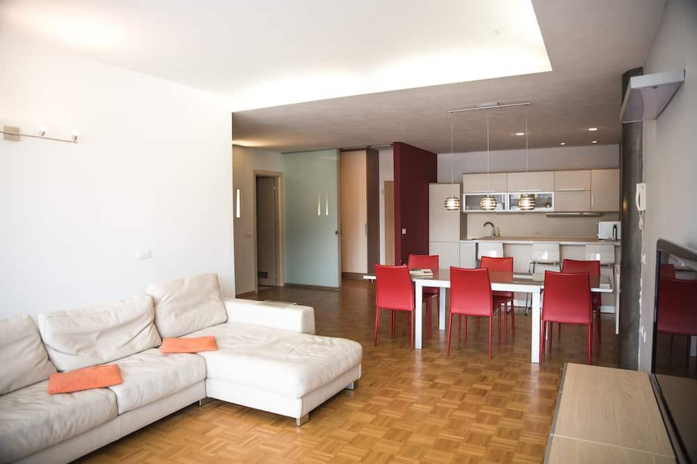 Familielejlighed - 3 soveværelser - Opholdsområde