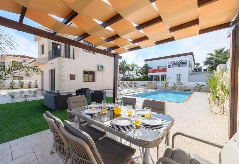 Agia Thekla Villas, Sotira, Villa, 3Schlafzimmer (Agia Thekla Gardens No2), Terrasse/Patio