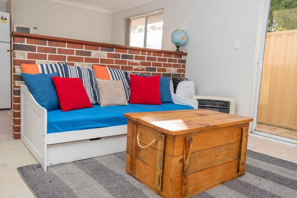 Lägenhet Comfort - 1 queensize-säng - Vardagsrum