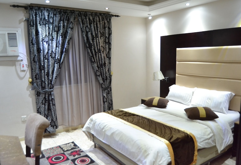 Hayat Al Janadriyah Furnished Units, Jeddah, Apartment, 1 Bedroom, City View, Room