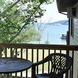 Habitación doble panorámica, 1 cama Queen size con sofá cama, vista al lago - Terraza o patio