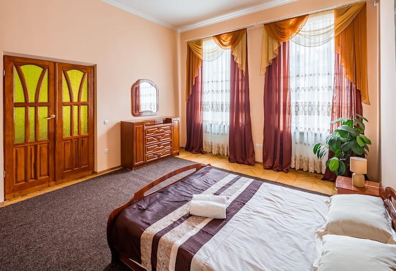 Three rooms in the center on Kulisha, Lavov, Standardni apartman, 3 spavaće sobe, Soba