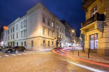 ภาพ Apartments with bedrooms at the center ใน Lviv