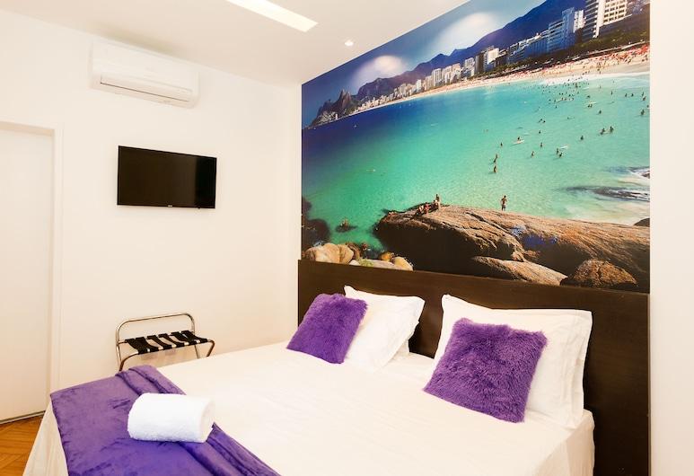Rio Inn Art Copacabana, Rio de Janeiro, Deluxe Double or Twin Room, Guest Room