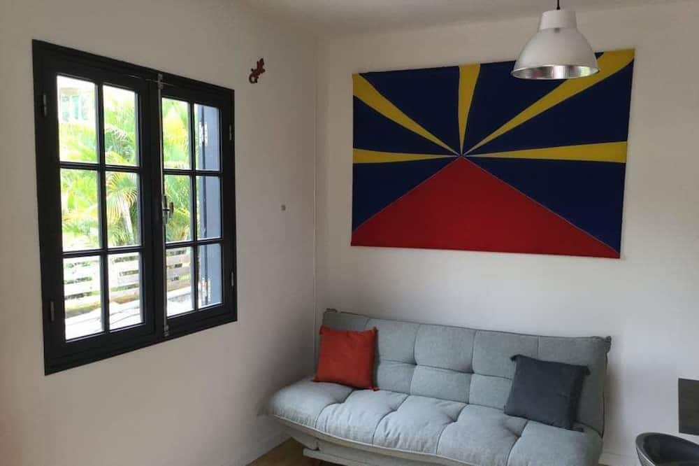 Basic Apartment, 1 Bedroom, Mountain View (Margouillat) - Living Area
