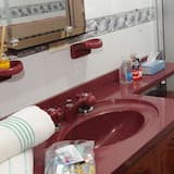 Kahden hengen huone yhdelle, Oma kylpyhuone (Remansos) - Kylpyhuone