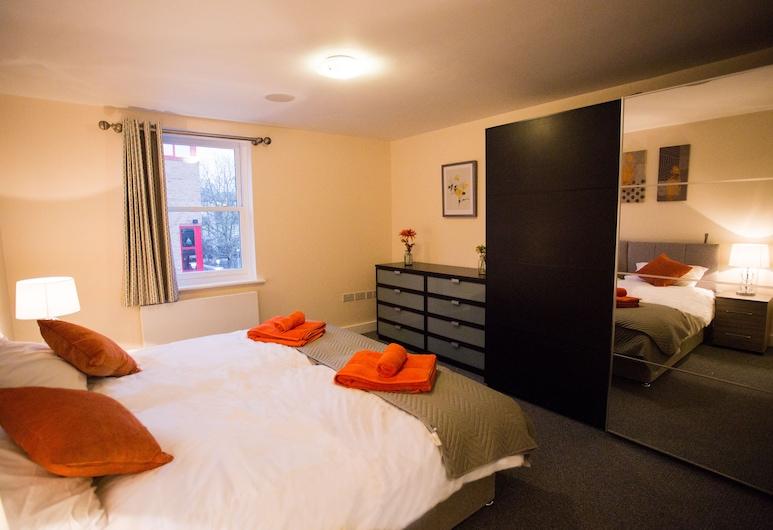 Luxury two bedroom apartment, Cambridge, Huoneisto, 2 makuuhuonetta, Huone