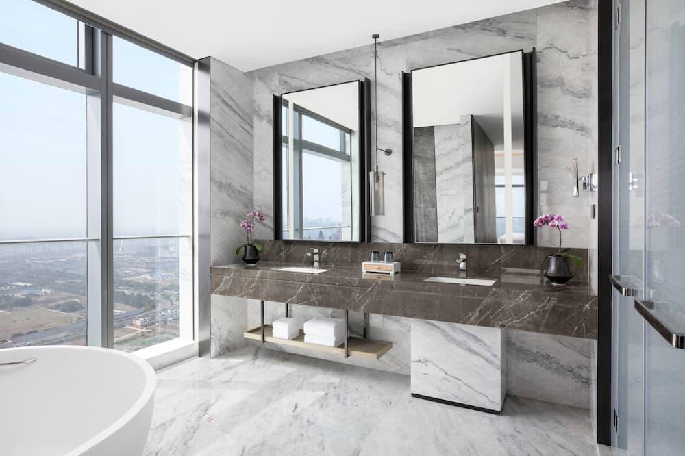 Apartament typu Executive Suite, 1 sypialnia, dla niepalących - Łazienka