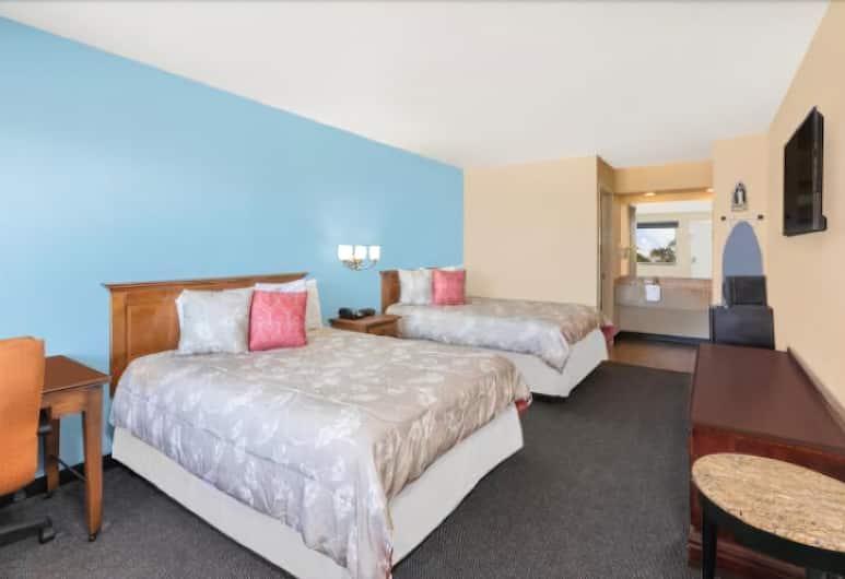 River Walk Inn & Suites, San Antonio, Exclusive Tek Büyük veya İki Ayrı Yataklı Oda, 2 Büyük (Queen) Boy Yatak, Oda