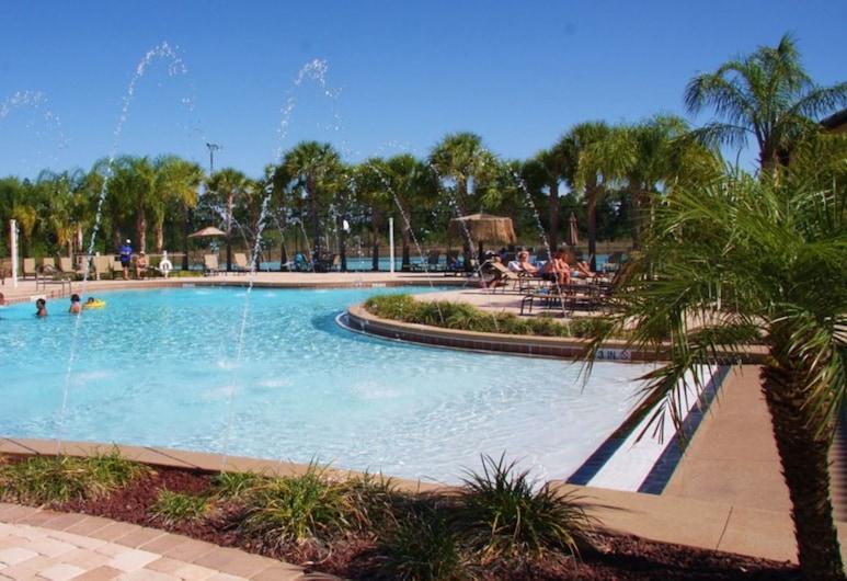 天堂棕櫚 8977 號飯店, 基西米, 聯排別墅, 4 間臥室, 室外游泳池