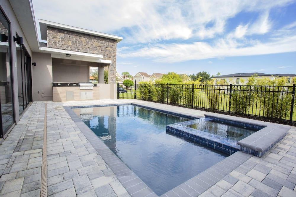 單棟房屋, 5 間臥室 - 室外泳池
