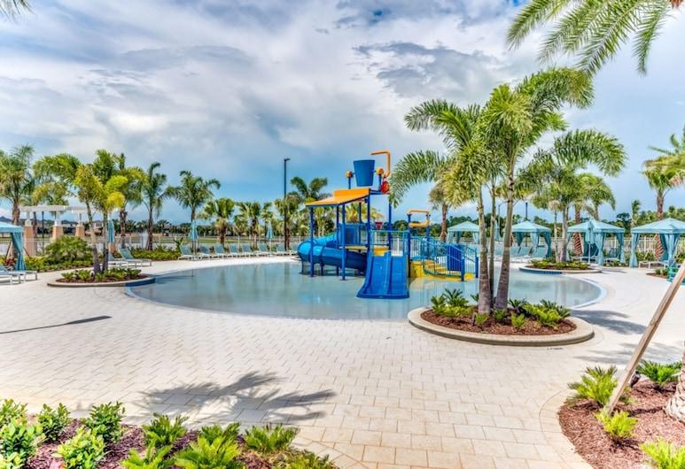 Solara Resort 9032, Kissimmee, kuća u nizu, 4 spavaće sobe, Dječji bazen