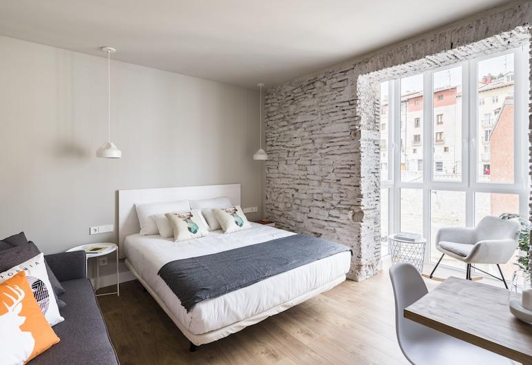 Apartamentos Eleven Rooms, בורגוס, סטודיו דה-לוקס, חדר שינה אחד, נוף לעיר (Superior - 2 adults + 1 kid), חדר