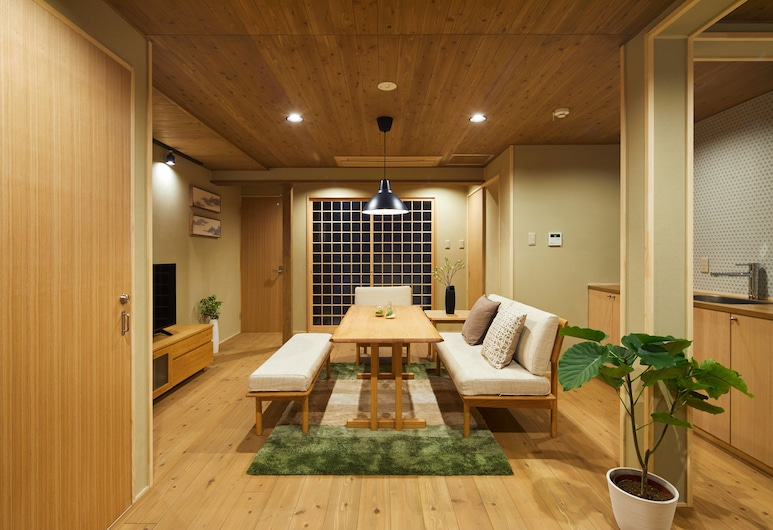 HANARE KYOTO In, Kyoto, Standard Room, Living Area