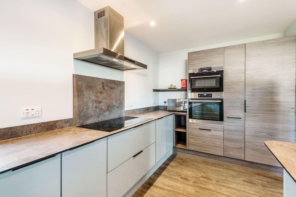 บ้านพัก, 5 ห้องนอน - สิ่งอำนวยความสะดวกในครัวส่วนกลาง