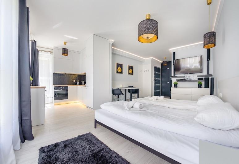 Apartamenty Sun & Snow Angielska Grobla, Gdansk, Apartemen (11b), Kamar