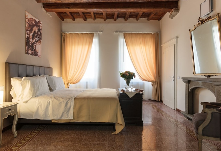Canto dei Servi, פירנצה, חדר דה-לוקס, חדר שינה אחד, נוף לעיר, חדר אורחים