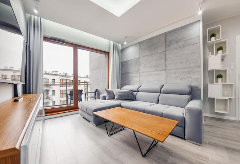 Apartamenty Sun & Snow Nowa Motława, Gdansk, Apartment (Jaglana 6F/38), Bilik
