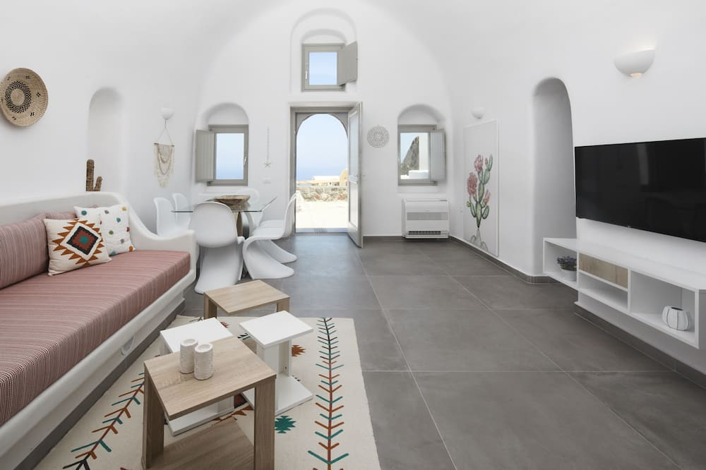 Vila, 2 spálne, masážna vaňa, výhľad na more - Obývacie priestory