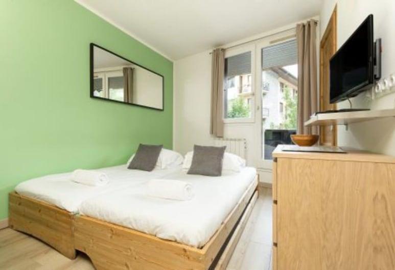 Apartment Lognan 1, שאמוני-מון-בלאן, דירה, מיטת קווין וספה נפתחת, חדר