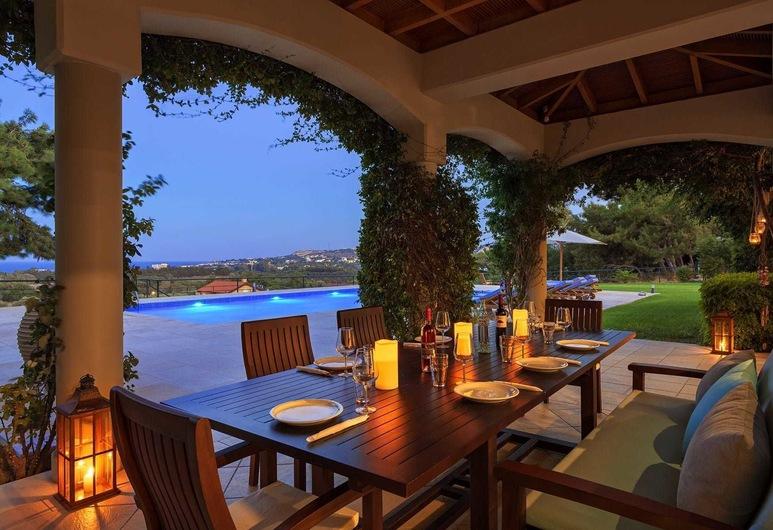 Bello Blu Luxury Villa, Rhodos, Deluxe-Villa, eigener Pool, Meerblick, Terrasse/Patio