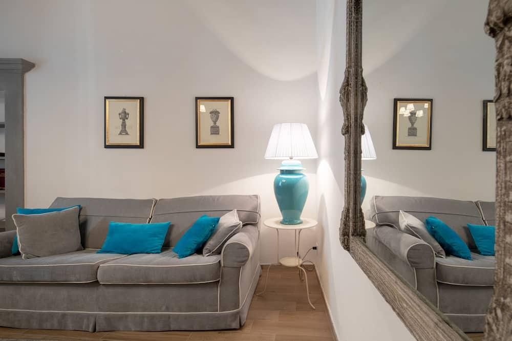 Romantisches Apartment, 1 Schlafzimmer - Wohnbereich