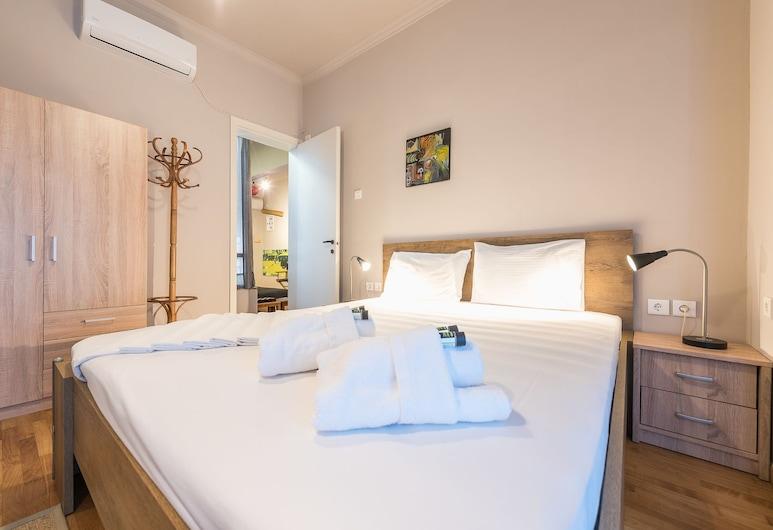 밝은 침대 2개 아파트먼트 바이 클라우드키스, 아테네, 시티 아파트, 침실 2개, 객실
