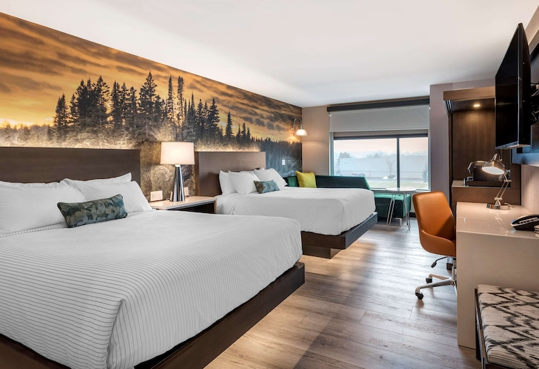Cambria Hotel Detroit-Shelby Township, Shelby Township, Standardzimmer, 2Queen-Betten, Nichtraucher, Zimmer