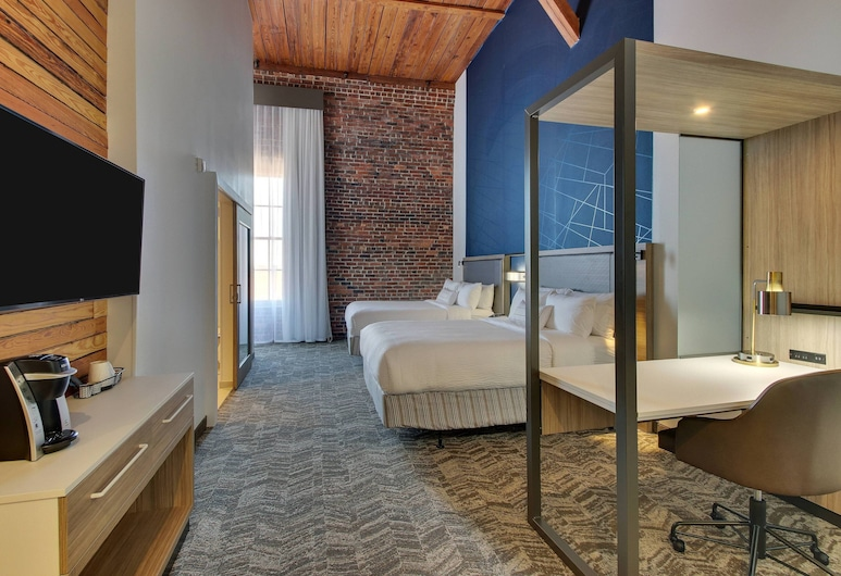 SpringHill Suites by Marriott Montgomery Downtown, Montgomery, Chambre, 2 grands lits, non-fumeurs, Chambre