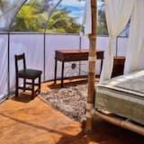 Poilsio namelis šeimai, 1 miegamasis, atskiras vonios kambarys, vaizdas į jūrą - Kambarys
