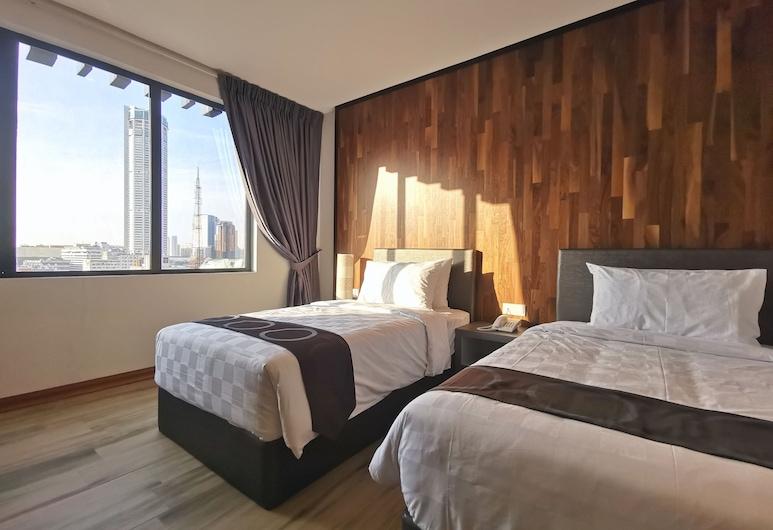 Frame Hotel, George Town, Dvojlôžková izba typu Deluxe, výhľad na mesto, Hosťovská izba
