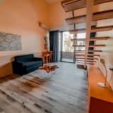 Standard apartman (Mezzanine) - Nappali rész