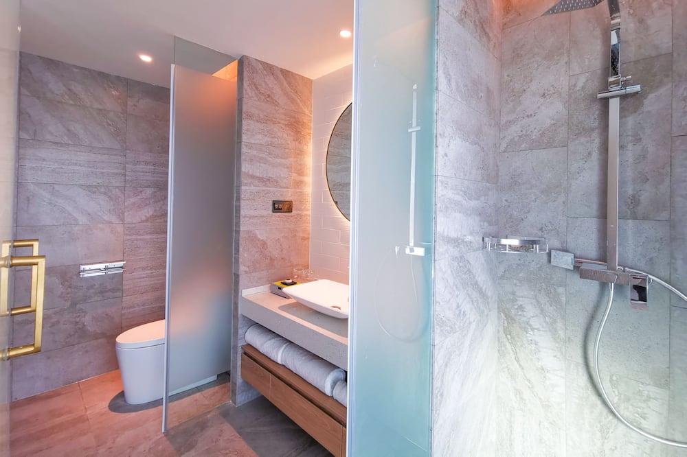 Liukso klasės dvivietis kambarys (2 viengulės lovos) - Vonios kambarys