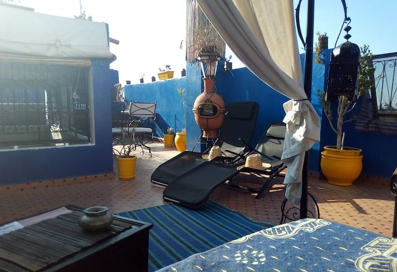 Riad Zinnha, Marrakech, Terrazza/Patio