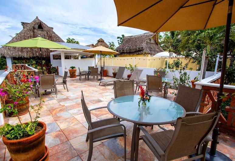 Hotelito Los Sueños, Саюліта, Тераса/внутрішній дворик