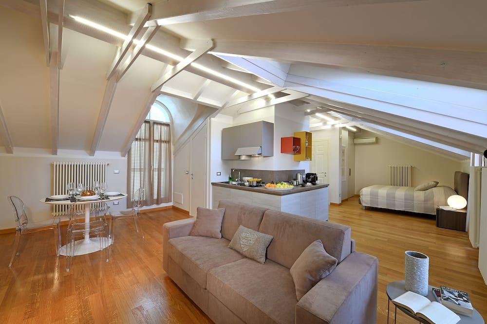 Penthouse Comfort, pemandangan kota - Area Keluarga
