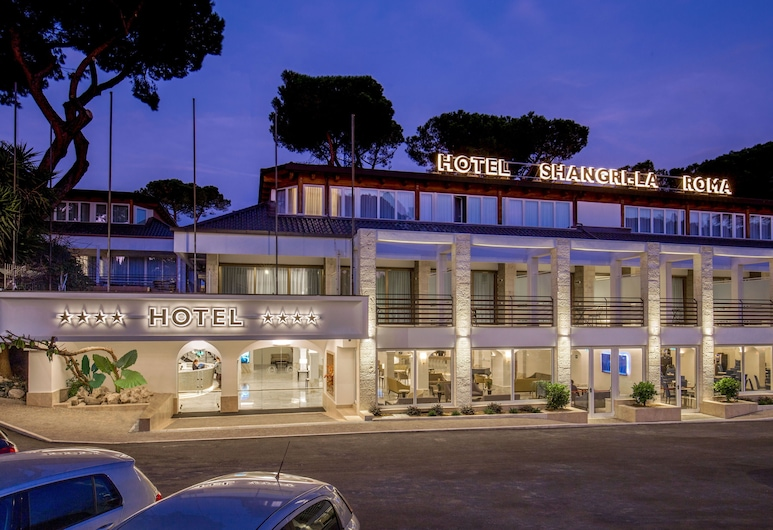 Hotel Shangri-La Roma, Rome, Hotel Front – Evening/Night