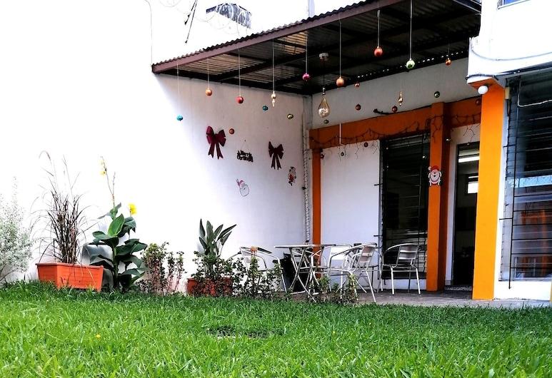 7Hotel El Salvador, San Salvador, Záhrada