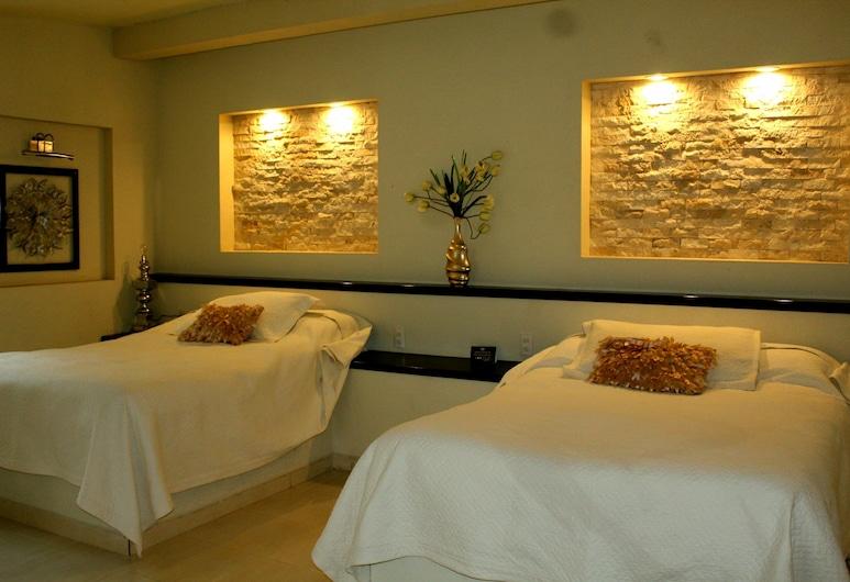 安胡耶胡特斯旅館,  特奧蒂瓦坎, 四人房, 2 張標準雙人床, 非吸煙房, 客房