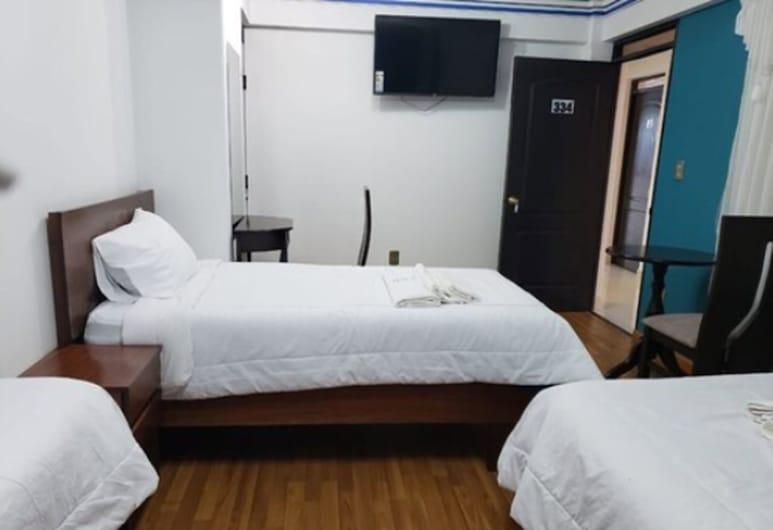 AZUL REAL, אורורו, חדר דה-לוקס לשלושה, 3 מיטות יחיד, חדר אורחים